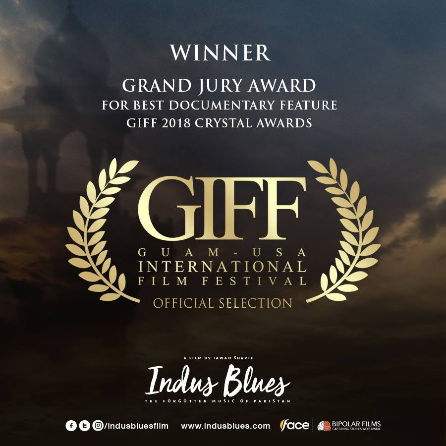 Indus Blues (WINNER – GIFF Grand Jury Award Nominee, Best Documentary Feature)