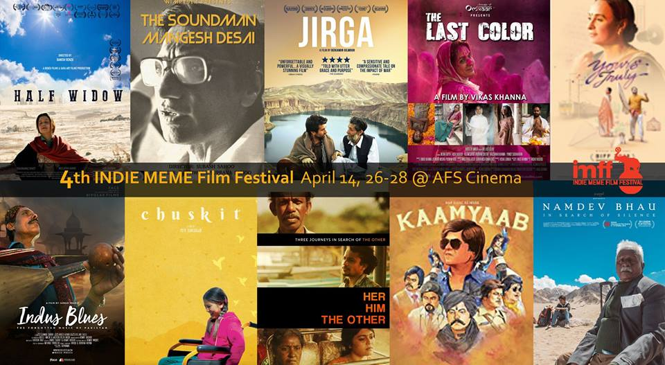 Indus Blues at 4th Indie Meme Film Festival – Schedule