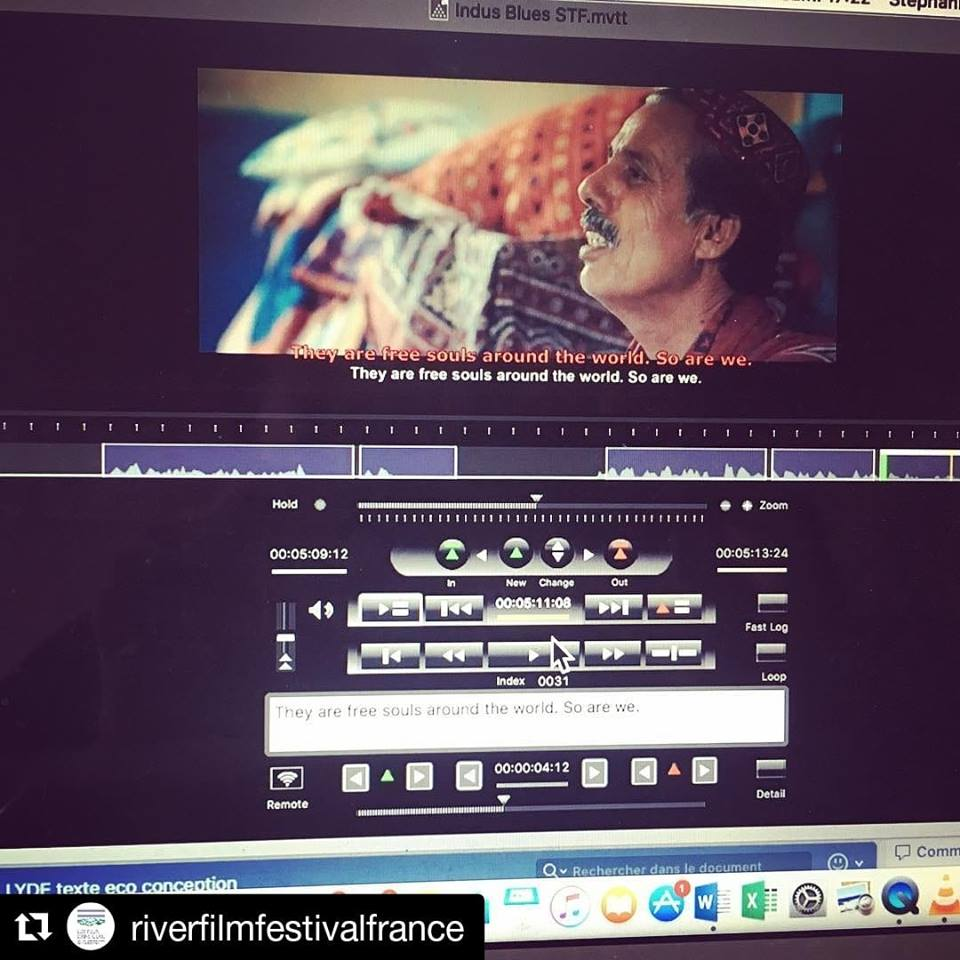 French Subtitles in the works for Indus Blues!!!