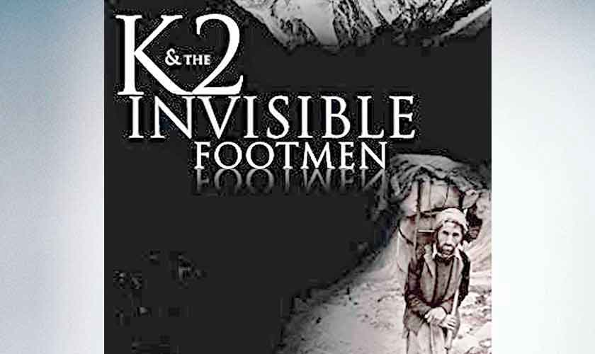 Jawad Sharif's K2 and the Invisible Footmen heads to Amazon Prime Video