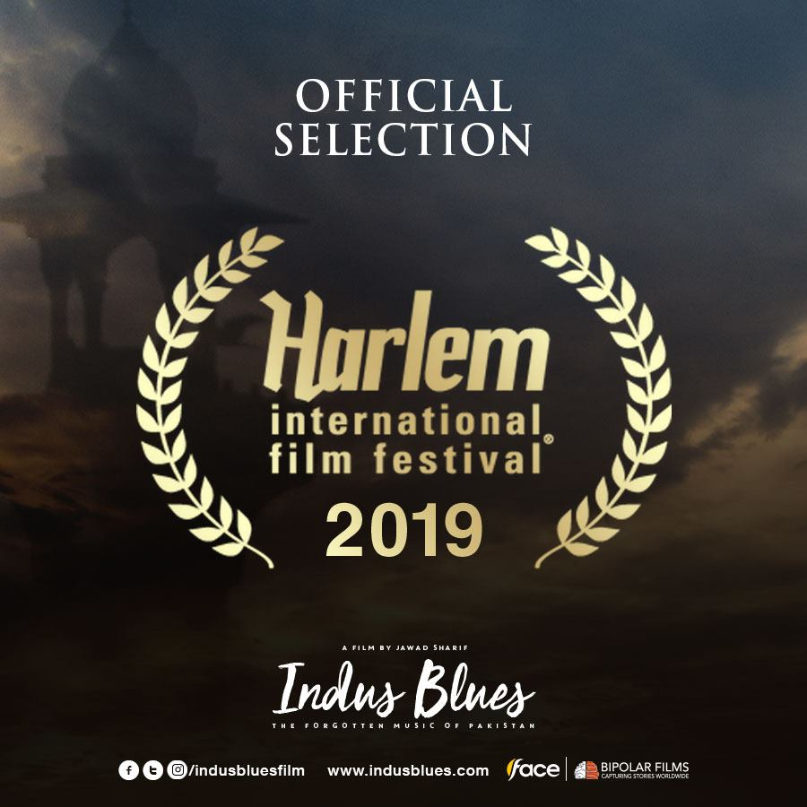 """Indus Blues"" Gets Officially Selected at ""Harlem International Film Festival 2019"""