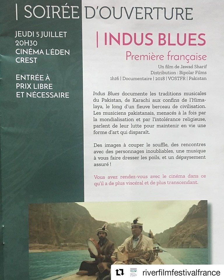 Indus Blues heads to France