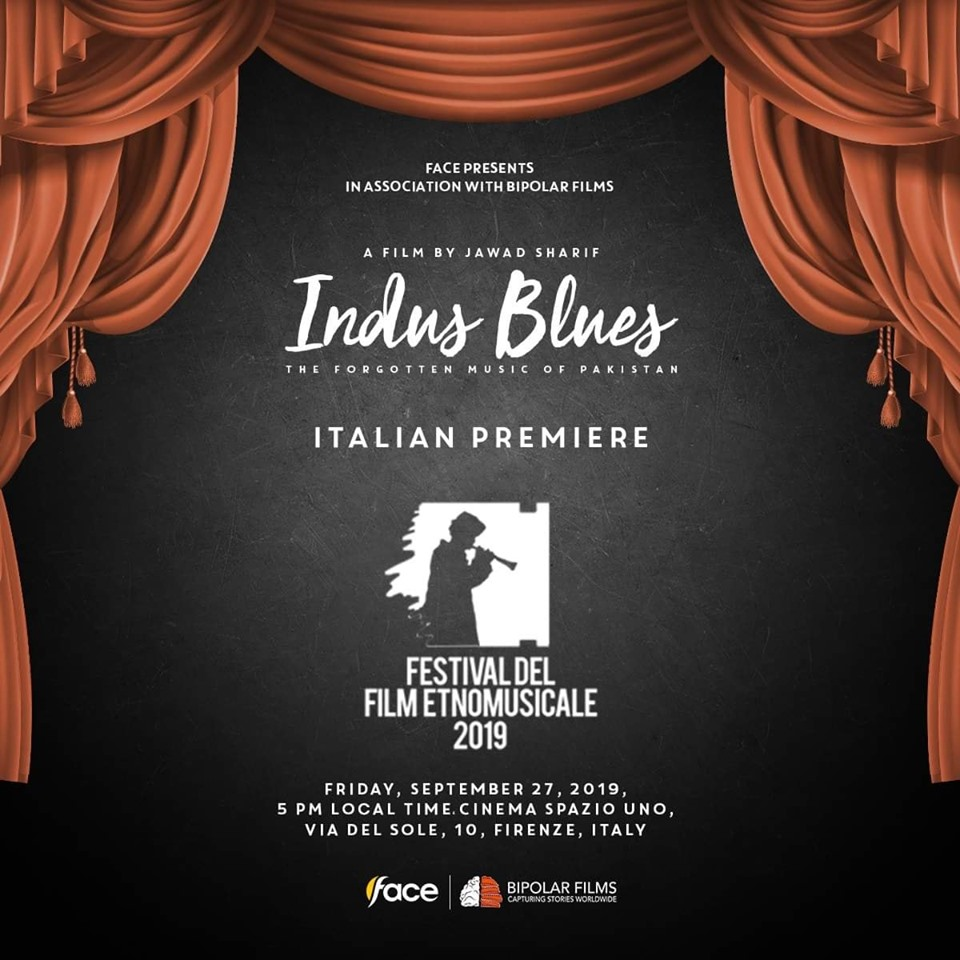 """Indus Blues"" Italian premiere is rescheduled"