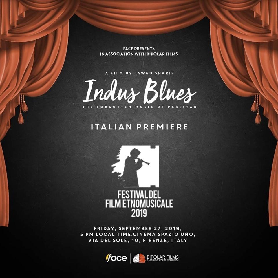 """Indus Blues"" Italian premiere is rescheduled"