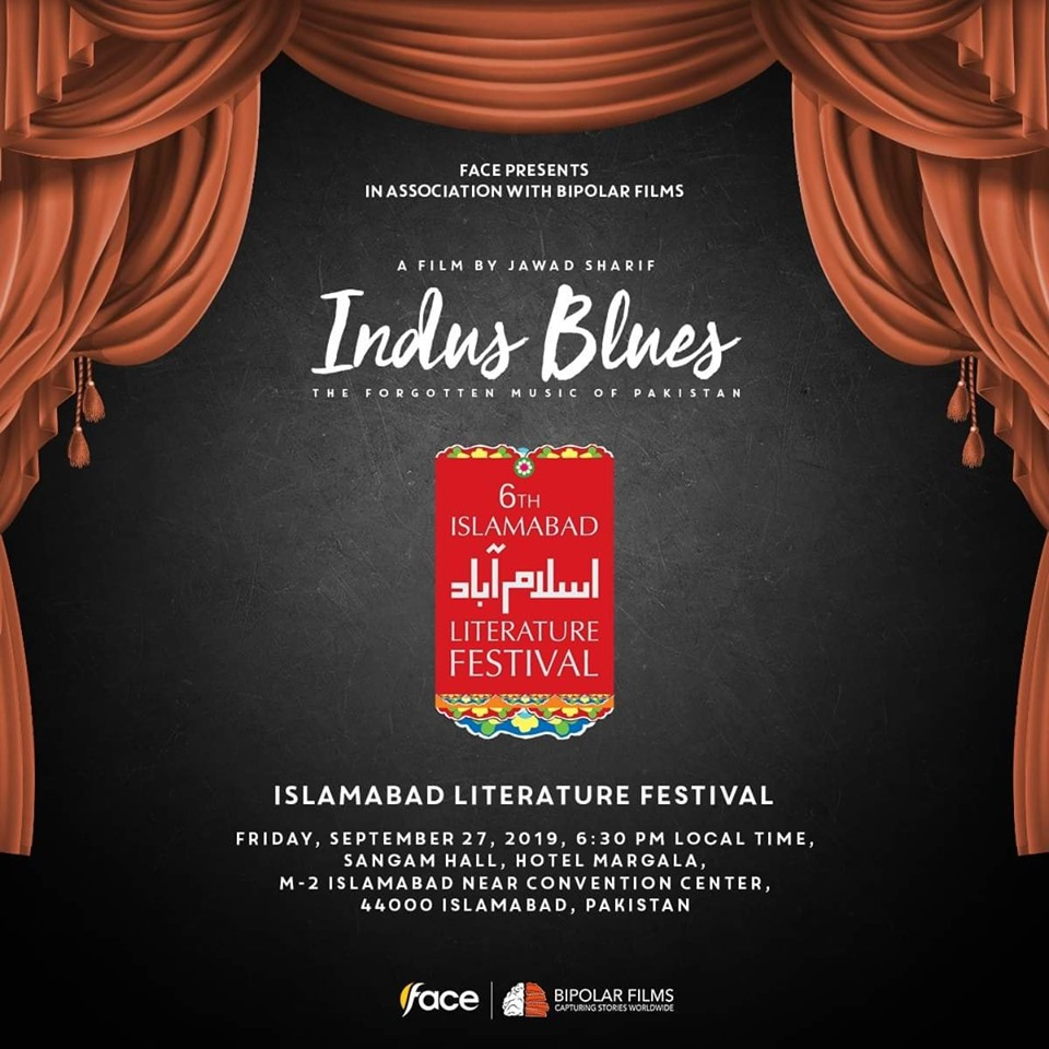 "Indus Blues at ""6th Islamabad literature festival"""