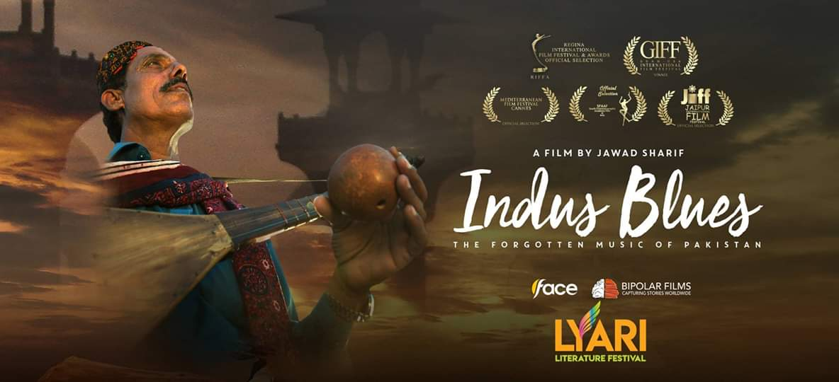 Indus Blues to Screen at Lyari Literature Festival