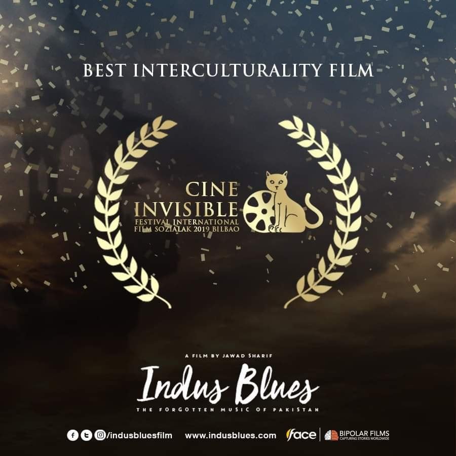 """Indus Blues"" won ""Best Interculturality Film"" Award at Cine Invisible Bilabo"