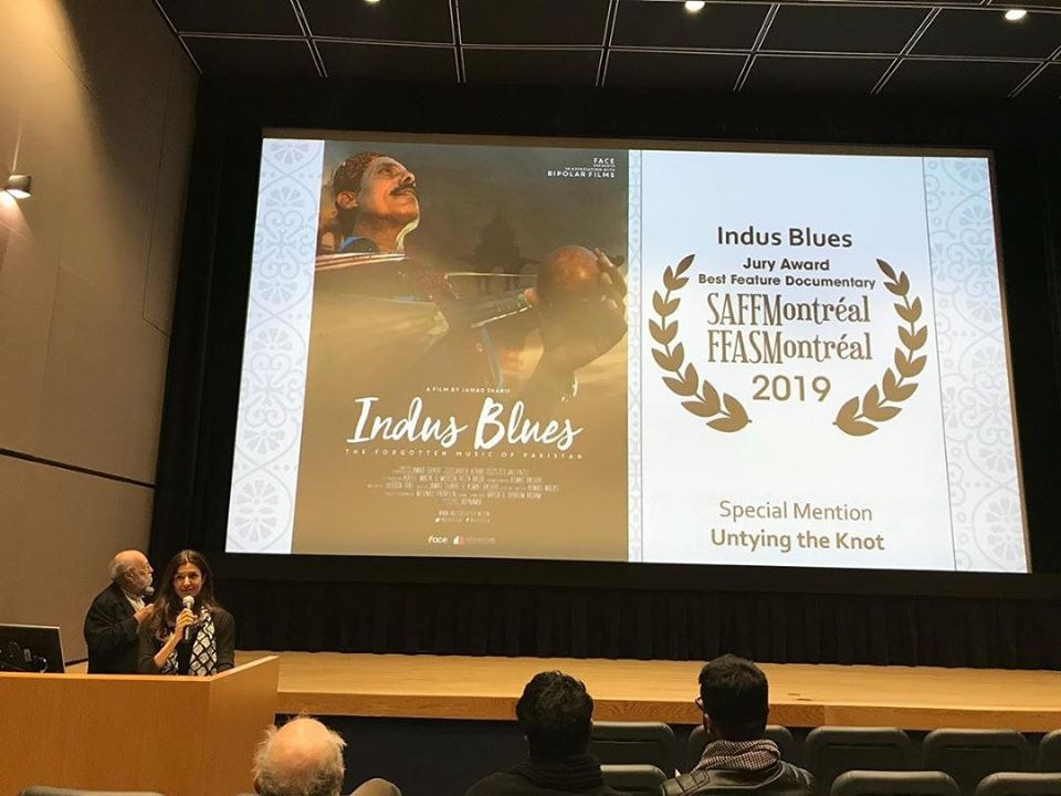 After Sabeen, Indus Blues win awards at Montreal Film Festival